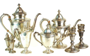 Antique Sterling Silver Tea & Coffee Service Set