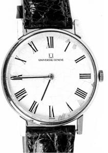 Geneve Vintage Universal 17 Jewels Men's Watch
