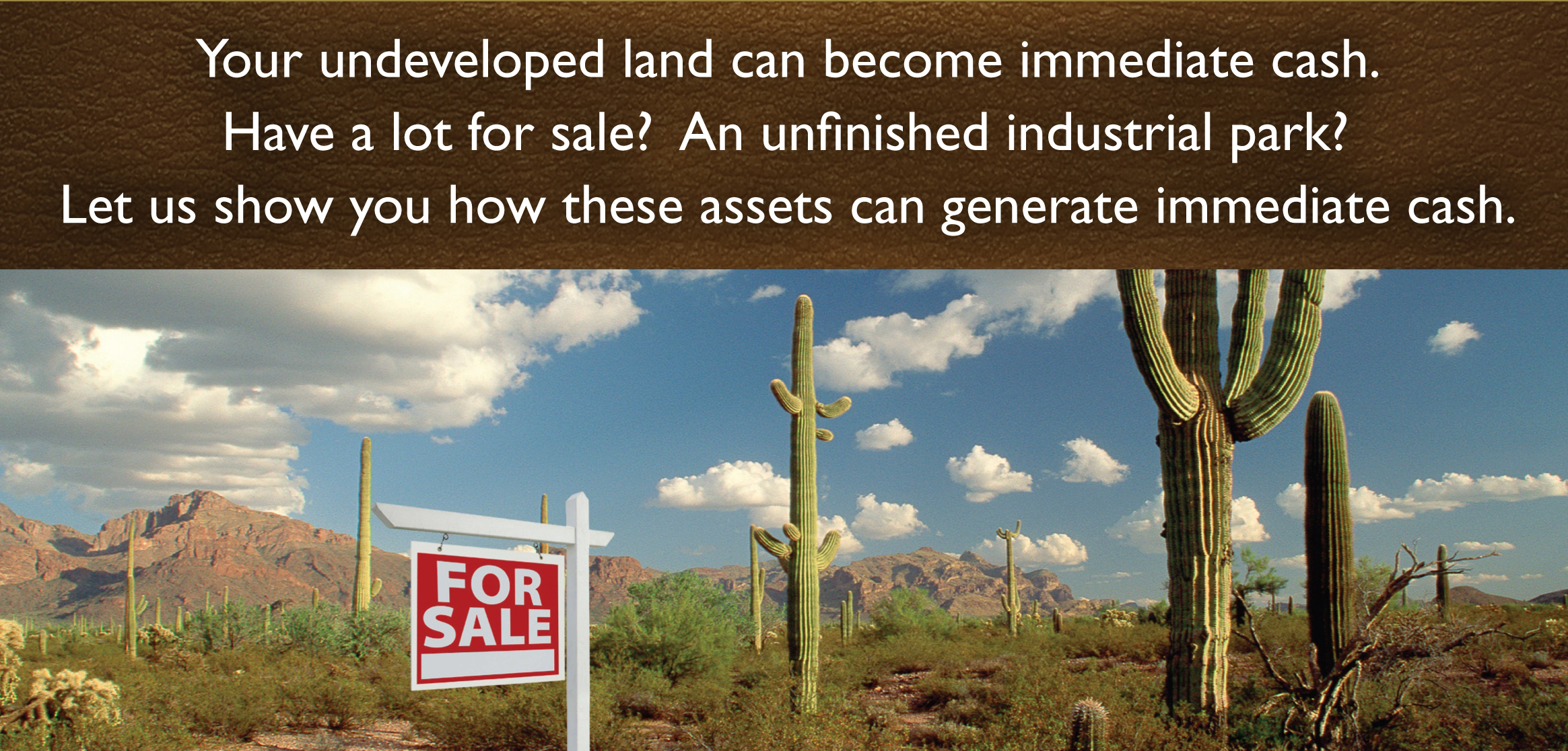 land and business loans