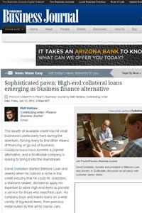 Bilmore Loan on Phoenix Business Journal