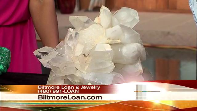 Biltmore Accepts Quartz Crystals