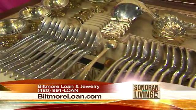 Biltmore Loan Accept Sterling silverware