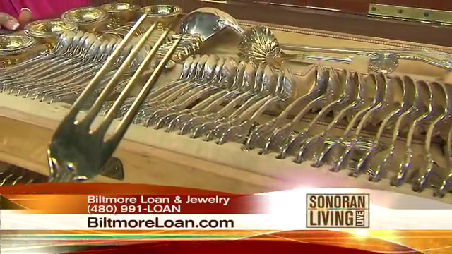 Biltmore Loan Will buy or Loan on your Sterling silverware