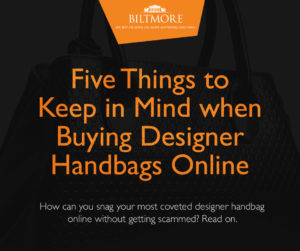 Five Things to Keep in Mind when Buying Designer Handbags Online