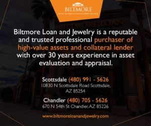 Biltmore Loan and Jewelry offers Collateral Loans in AZ