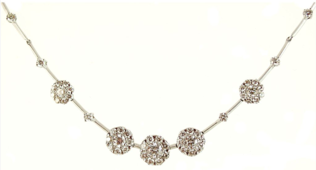 white_gold_and_diamond_necklace
