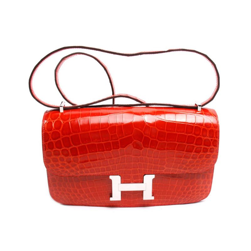 authentic-hermes-elan-in-geranium-crocodile-i-palladium-hardware