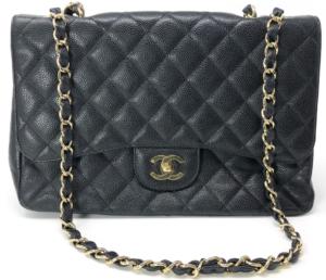 Chanel Jumbo Classic Black Single Flap Bag