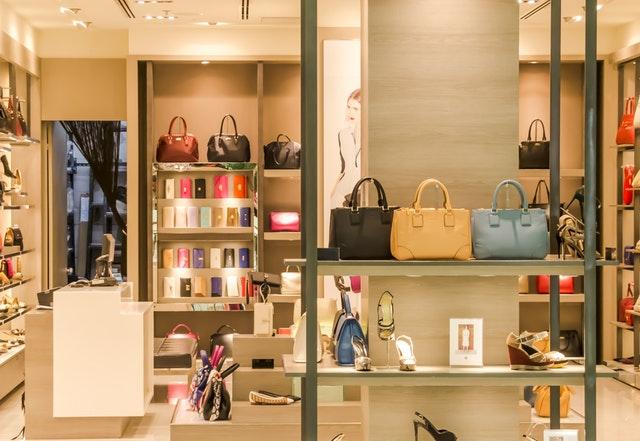 Designer Bags on Display 1