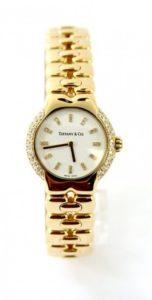 Tiffany & Co. 18K Yellow Gold Diamond Tesoro Women's Watch