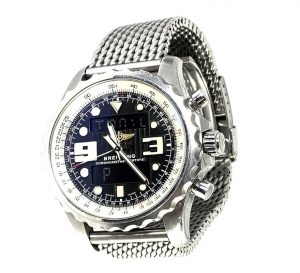 Breitling Chronospace Chronometer A78365 Stainless Steel Mens Watch
