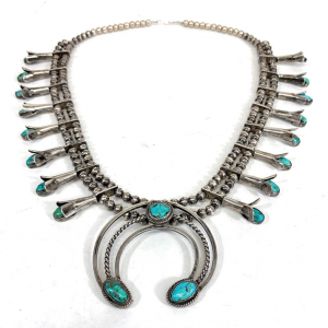 Vintage_Navajo_Sterling_Silver_Royston_Turquoise_Squash_Blossom_Necklace